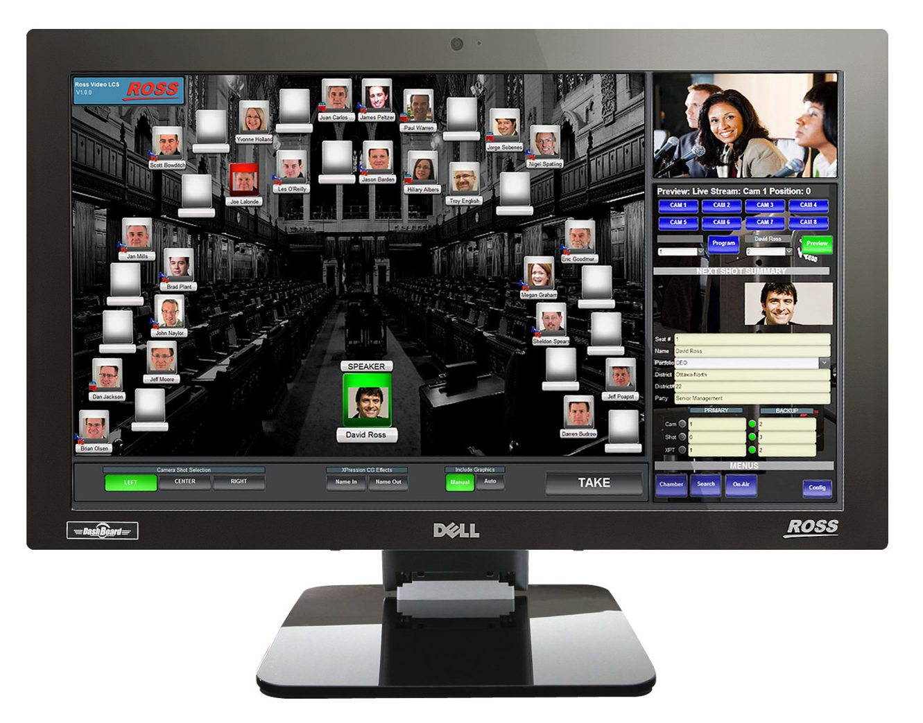 Ross LCS Control System